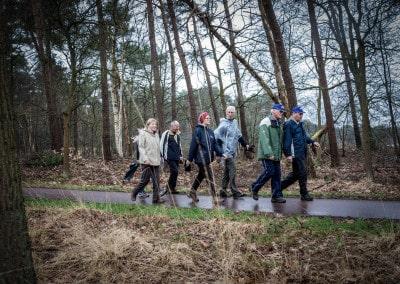 Loopgroep-wandelen